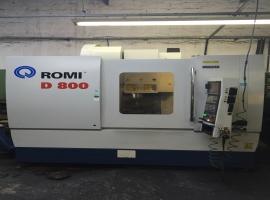 Centro de Usinagem CNC Usado - Romi D-800 - VENDIDO