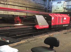 Corte Laser CNC - Usado - Amada Modelo 4020