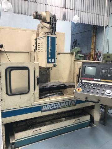 Fresadora CNC Usada Roccomatic - VENDIDO