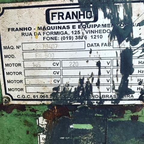 Serra de Fita Franho FM-500 - VENDIDA