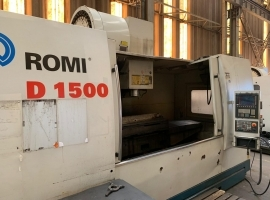 Centro de Usinagem CNC Romi D-1500 Usado