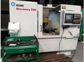 Centro de Usinagem CNC Usado - Romi D-760 - VENDIDO