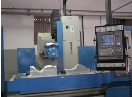 Fresadora CNC Usada Banco Fixo Zayer 20KF-2500 - VENDIDA