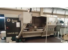Torno Romi CNC Centur 45-A Usado - VENDIDO