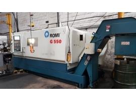 Torno Romi CNC G-550 Usado